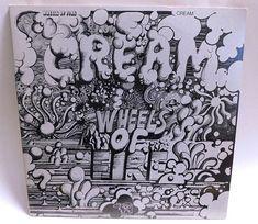 Cream Wheels of Fire - Double Lp Vintage Vinyl Record Album Psychedelic Blues Classic Rock 1977 RSO Exc/NM Wheels Of Fire, Vinyl Record Collection, Vintage Vinyl Records, Classic Rock, Psychedelic, Lp, Blues, Album, Cream