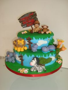 zoo cake:signs!