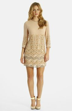 LABEL by five twelve Beaded Georgette Shift available at #Nordstrom