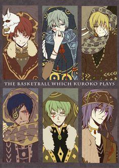 Kiseki no Sedai (Generation Of Miracles) - Kuroko no Basuke - Mobile Wallpaper - Zerochan Anime Image Board Kuroko No Basket, Anime Demon, Manga Anime, Anime Art, Basket Drawing, Desenhos Love, Kiseki No Sedai, Basketball Anime, Akakuro