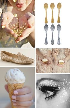 Sparkles..ignore the spoons. haha