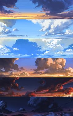 ArtStation Daily study Shin jong hun - Best of Wallpapers for Andriod and ios Environment Painting, Environment Concept Art, Environment Design, Game Environment, Digital Art Tutorial, Digital Painting Tutorials, Concept Art Tutorial, Digital Paintings, Landscape Concept