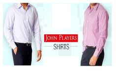 John Player Casual Shirt at Lowest Price : Upto 50% OFF + Buy 1 Get 1 Free - Best Online Offer