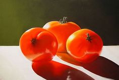 Tomayta Tomato - pastel by Colleen Brown. www.colleenbrown.com.  Prints available.