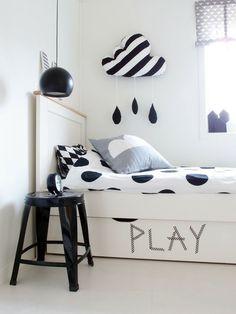 Blanco y negro para los mas pequeños de la casa. - Kulunka Deco Blog