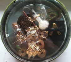 Steampunk Christmas Ornament Chem Lab by starbuckwhalerider