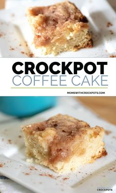 Make a tasty coffee cake from scratch and never turn on the oven. Bake a moist a… Make a tasty coffee cake from scratch and never turn on the oven. Bake a moist and delicious Crockpot Coffee Cake with this easy recipe. Crockpot Cake Recipes, Crock Pot Desserts, Slow Cooker Recipes, Crockpot Dishes, Crockpot Meals, Casserole Recipes, Slow Cooking, Brunch Recipes, Gourmet Recipes