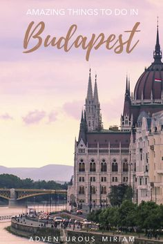 Budapest, Hungary is the perfect combination of budget and luxury travel, the food is awesome and there's lots of history and beautiful things to do in the Hungarian capital. Get a list of all the best things to do in Budapest here. Europe Destinations, Europe Travel Tips, Amazing Destinations, Holiday Destinations, Solo Travel, Travel Usa, Luxury Travel, Budapest Travel, Visit Budapest