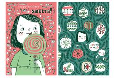 Smitten with these holiday card designs from @Denise Holmes
