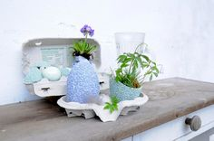 ReNika.cz Easter decoration III – Kondrač 2014 Planter Pots, Presents, Easter, Decoration, Blog, Gifts, Decor, Dekoration, Blogging