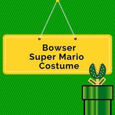 How To Make a Bowser Costume • Seasonal Craze