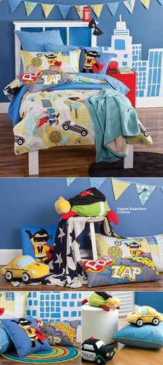 I am a Super Hero Bedding from Au. Really cute! S would love it for his big boy bed.