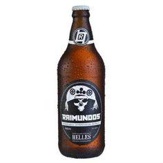 Cerveja Raimundos Helles, estilo Munich Helles, produzida por Cervejaria Bamberg, Brasil. 5% ABV de álcool.