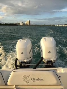 Sea Trial Twin 350 Mercury #peprigging #azmboats #somiami Speed Fun, Power Boats, Mercury, Miami, Twin, Racing, Sea, Running, Motor Boats