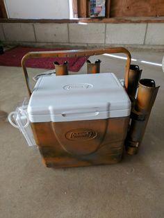 Livewell bait cooler/ rod holder for kayak