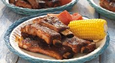 "BARBECUED SPARERIBS RECIPE: ~ From: ""WEBER.COM"" ~ Recipe Courtesy Of: ""JAMIE PURVIANCE"" ~ Posted On: August 15, 2014 ~ Serves: 4 // Prep time: 20 minutes 