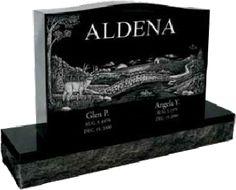 Headstone Prices Dense Black Granite Headstones Head
