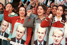 Syrian girls chant in support of Hafez al-Assad.jpg