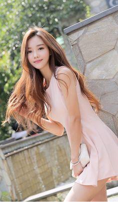 Fabulous long healthy hair.