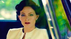 Lara Pulver as Irene Adler.  This is how I'd like to do my hair and make up for my version of the female Master.