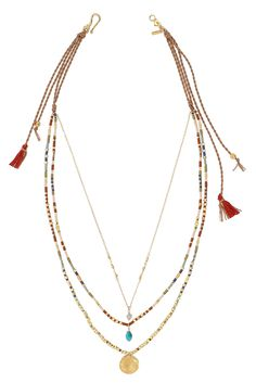 Multi Mix Pre-Layered Necklace - Chan Luu