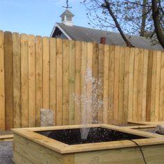 Backyard fountain ( homemade)