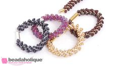 How to Make the Deluxe Beaded Kumihimo Bracelet Kit with Long Magatama B...