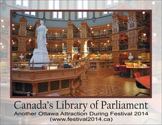 Visit the Library of Parliament in Ottawa - Travel Maple Leaf Tours Ottawa Tulip Festival, Attraction, Cruise, 1, Tours, Mansions, House Styles, Travel, Ottawa Canada