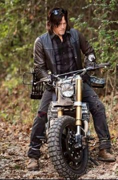 Daryl's new bike