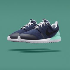 pretty nice 2ccf3 7d9da The Nike Roshe Run NM Tech Fleece pack is on its way. Three new colorways  of the Roshe -- rocking grey, navy or black on the Tech Fleece construction  -- .