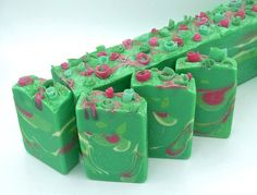 Cucumber Melon/handmade soap/artisan soap/natural soap/hand made soap/homemade soap/gift soap/luxury soap/goat milk soap/Owl Natural Soaps