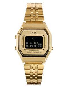 Casio LA680WEGA Mini Digital Gold Watch