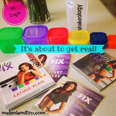 Committed to Get Fit: The 21 Day Fix Nutrition Plan and Week 1 Information