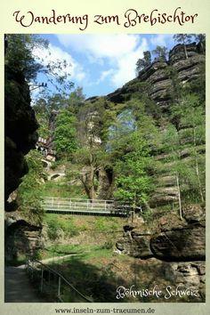 Bohemian Switzerland & Saxon Switzerland, hike from Edmundsklamm to Brebischtor Hiking Germany, Dresden, Far Away, Halle, Czech Republic, Switzerland, Places To Go, Wanderlust, Europe