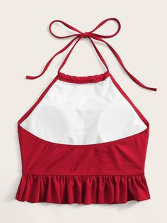 Girls Fashion Clothes, Teen Fashion Outfits, Kids Outfits, Kids Fashion, Fashion Fashion, Womens Fashion, Crop Top Outfits, Cute Casual Outfits, Halter Swim Top
