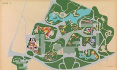 Roberto Burle Marx: Ibirapuera park | a Brazilian Folk-Art-meets-Matisse print aesthetic
