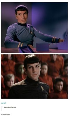 Spock - Zachary Quinto did such a great job with this roll