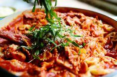 Skillet Chicken Lasagna - A Pioneer Woman Recipe