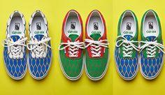La maison parisienne Kenzo et la marque de chaussures de skate Vans collaborent pour trois collections capsules.