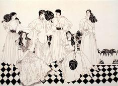 Fashion Illustration by Pedro Barrios