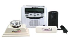 """Storm season is here! Keep you and your family safe by using a weather alert system from Silent Call. The Weather Alert Radio with Strobe Light & Bed Shaker is designed specifically for deaf and hard of hearing people with bed shaker, strobe light, and loud audible alarm. The WR100 radio receives signals from NOAA and will give you up-to-the-minute warnings for your area. The radio will light up 3 colored lights & spell out on the LCD screen the specific warning such as """"TORNADO"""". Find…"""