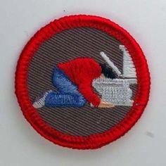 Demerit badge  from laughingsquid Tumblr