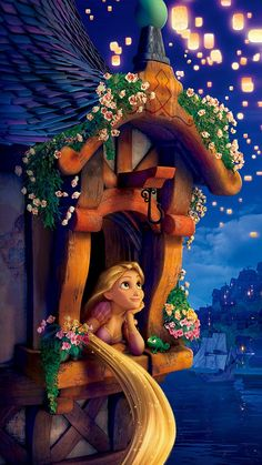 Rapunzel ★ Find more Disney wallpapers for your #iPhone + #Android @prettywallpaper