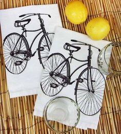 Bicycle Fabric Napkins