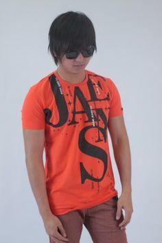 JS Nudie T-shirt  - Orange