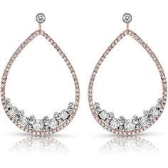 Diamond Earrings - - FEA46 (102.647.190 IDR) ❤ liked on Polyvore featuring jewelry, earrings, diamond earring jewelry, diamond jewellery, earring jewelry, diamond jewelry and diamond earrings