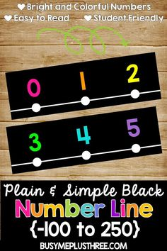 Are you looking for a bright number line to match your classroom decor? This neon and black number line is perfect. The numbers are easy to read and student friendly. This is great for any math classroom or stations. Neon Classroom Decor, Math Classroom Decorations, Classroom Walls, Classroom Displays, School Classroom, Future Classroom, Classroom Ideas, Chalkboard Classroom, Classroom Board