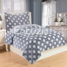 Oblieček Mikrovlákno a Mikroflanel Isabelle grey, i-matrace. Comforters, Grey, Decor, Furniture, Bed, Home, Home Decor