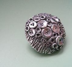 Primordial Button by MamacitaBeadworks on Etsy
