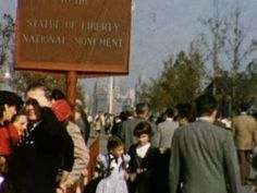 Statue of Liberty National Monument, United States, New York (New York) - 1954  - Home Movie Clips